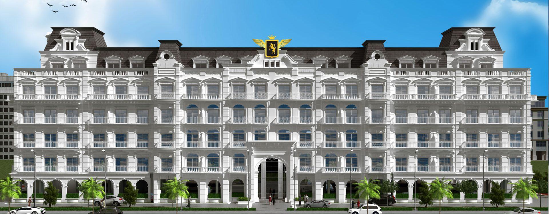 vincitore palacio front view