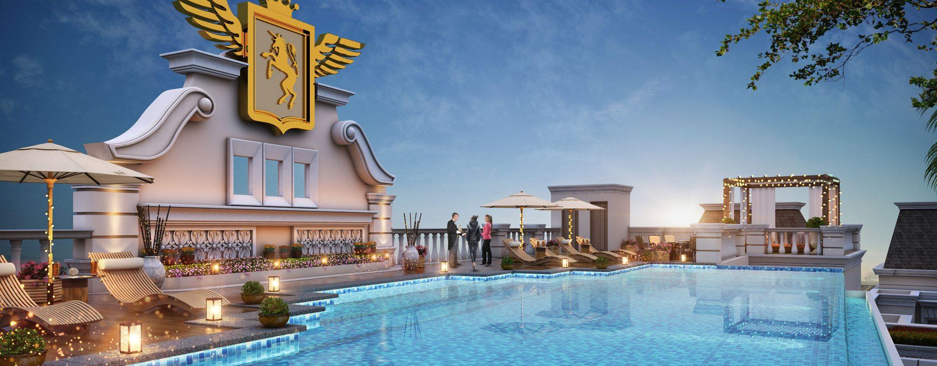 boulevard infinity pool