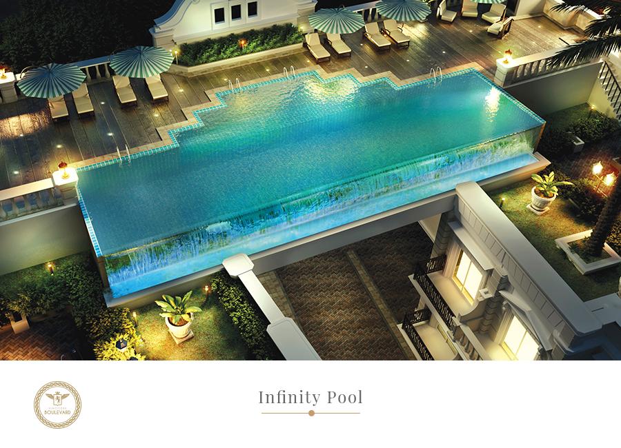 infinity pool boulevard