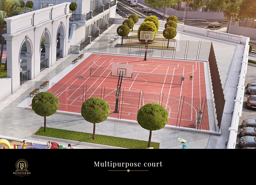 benessere-project-amenities-multipurpose-court-vincitore-real-estate-development-llc