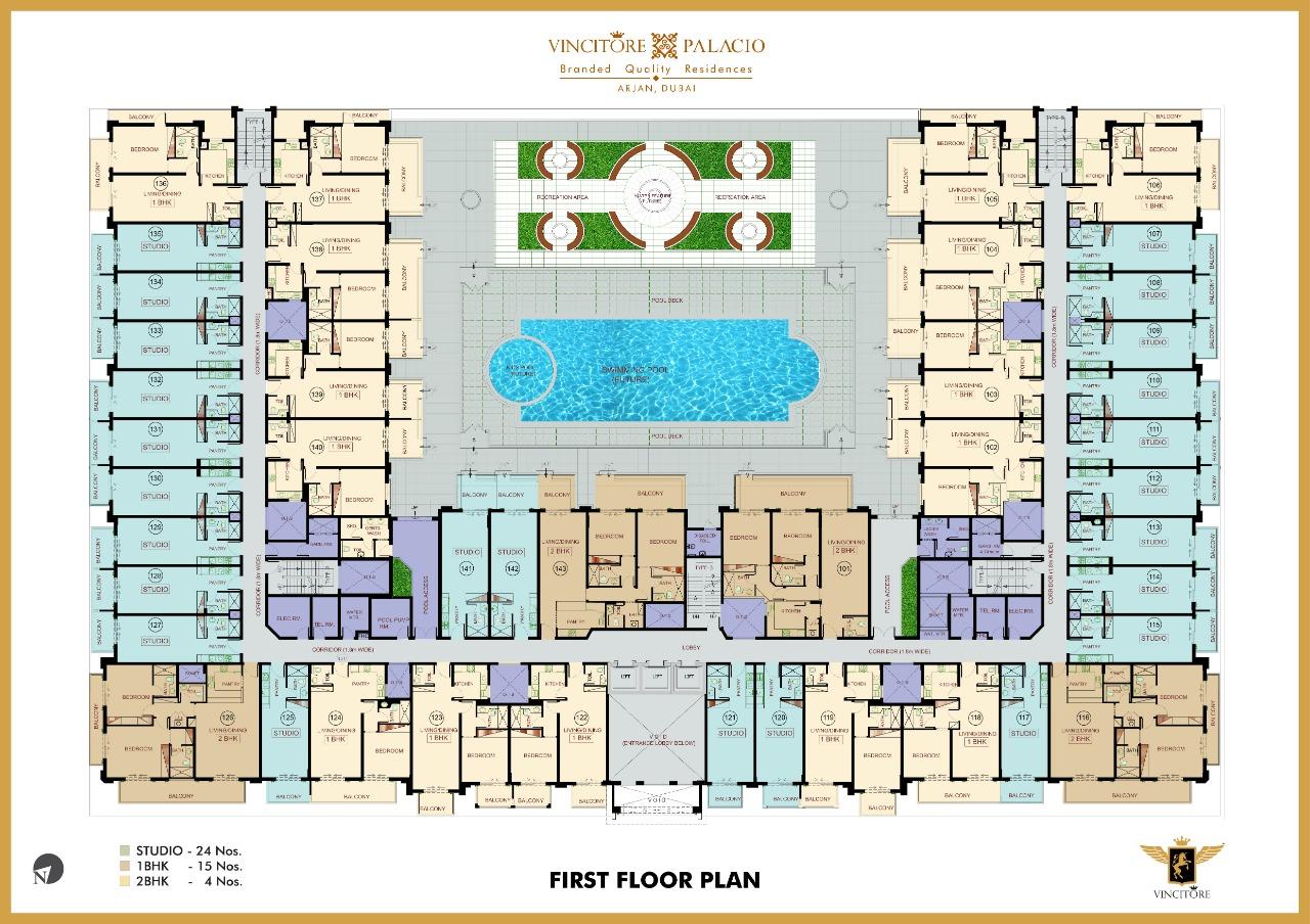 vincitore palacio floor plan 1
