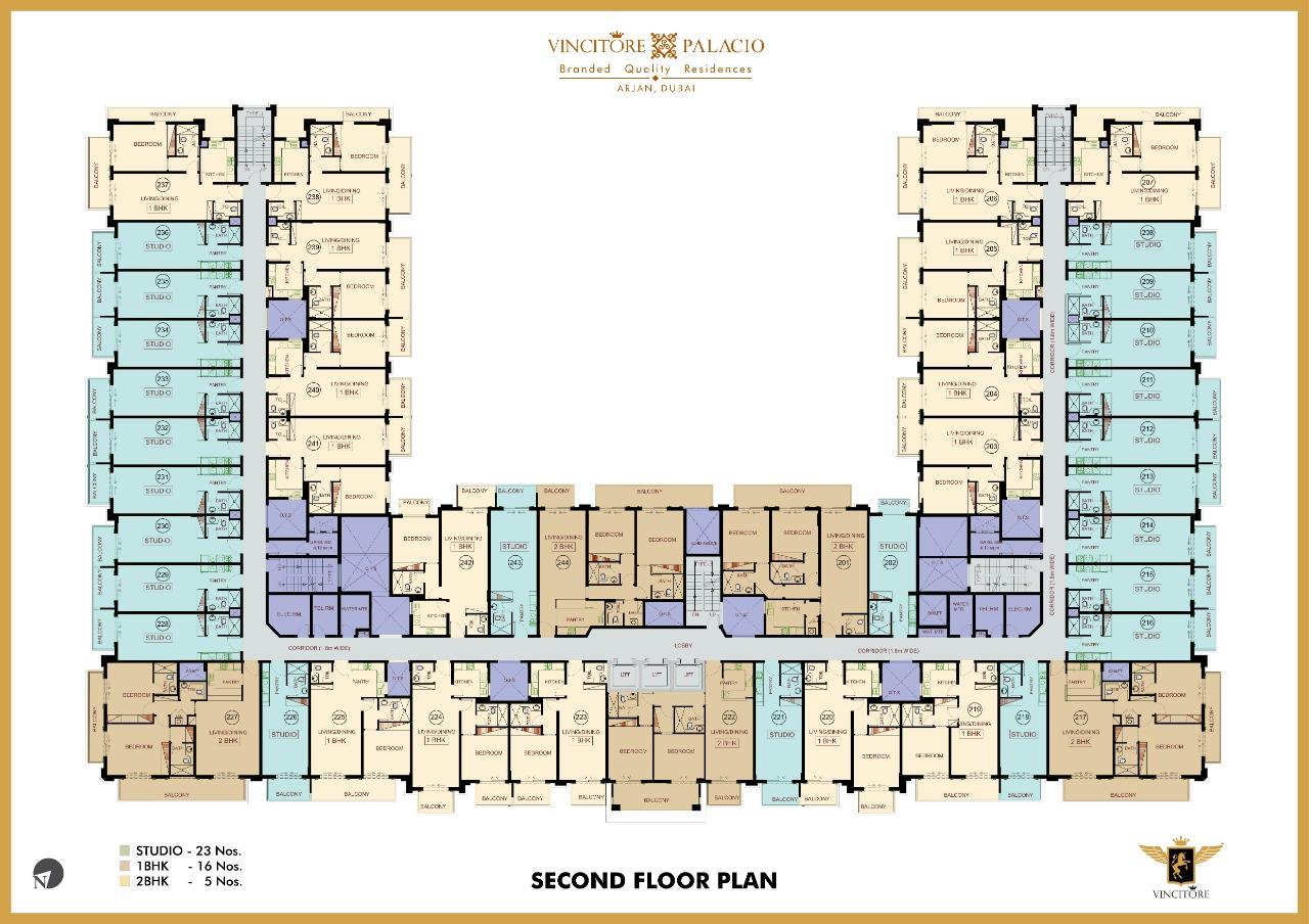 vincitore palacio floor plan 2