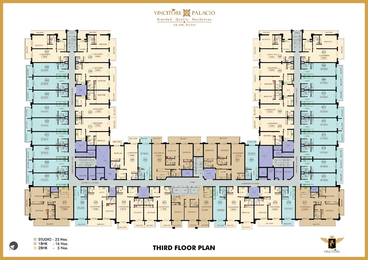 vincitore palacio floor plan 3