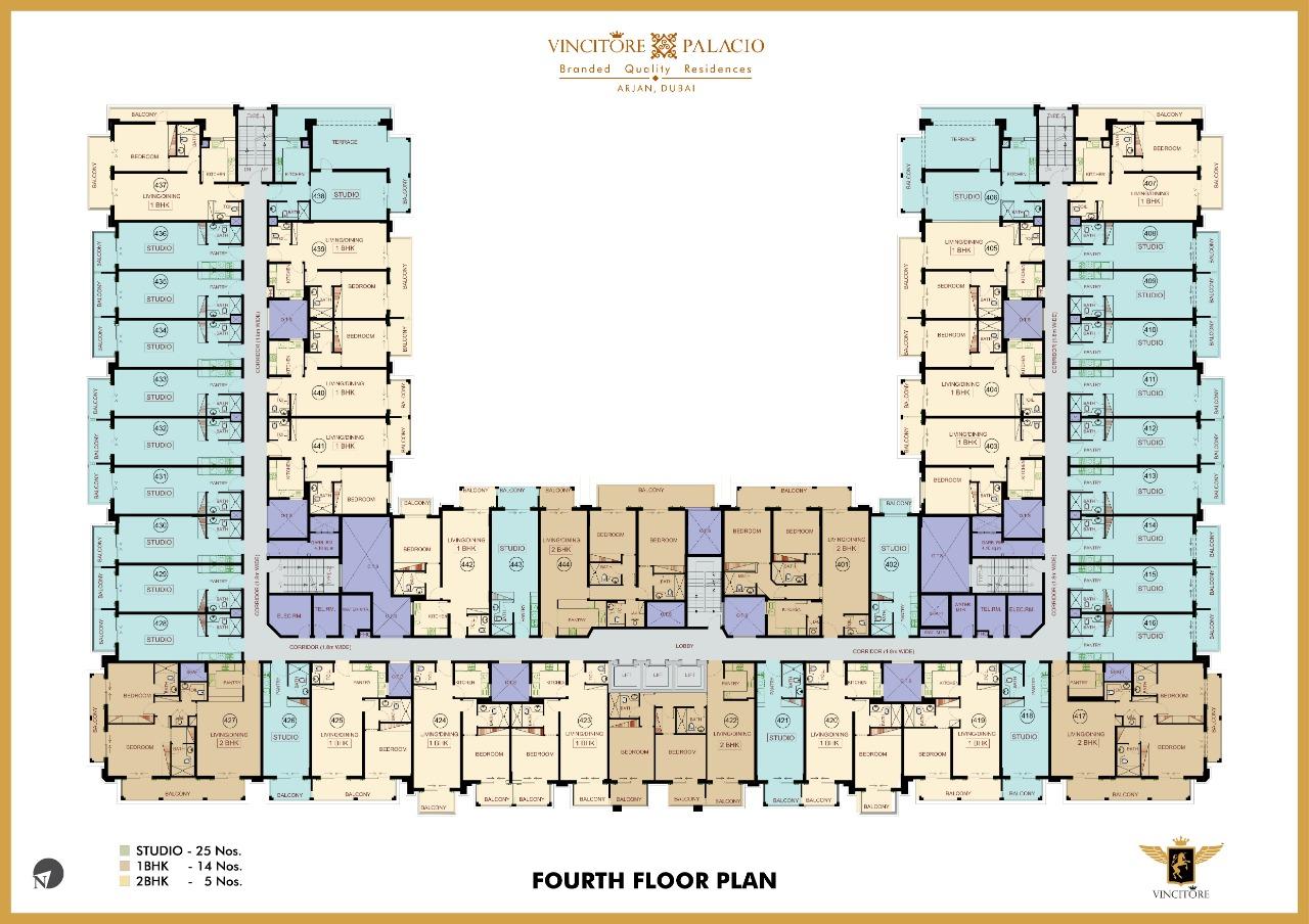 vincitore palacio floor plan 4